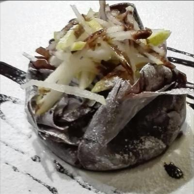 Fagotto di Pastafillo Cioccolato e Pere