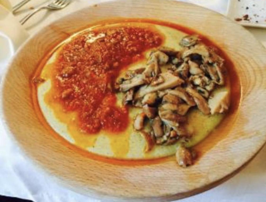 Polenta con Porcini e Cinghiale ad Ancona